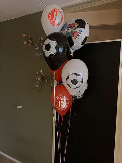 Feyenoord Ballonnenboeket