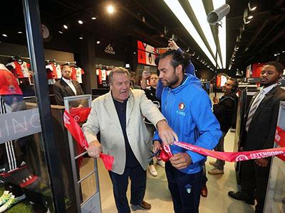 Opening Feyenoord Fanshop