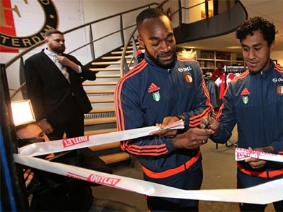 Opening Feyenoord Outlet