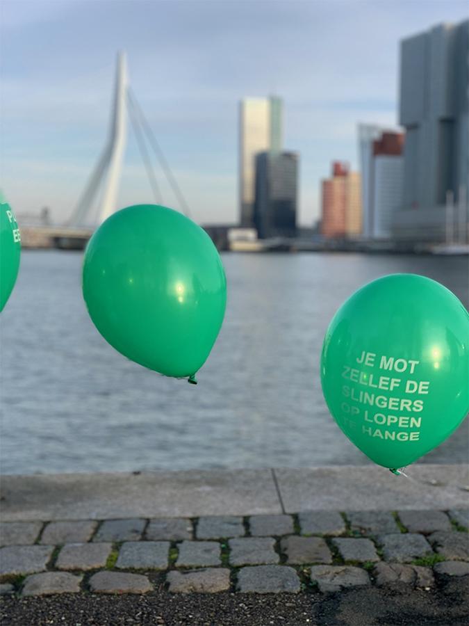 Ballonslinger Balloonvine Heliumboog